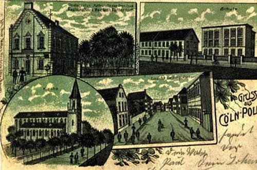 Postkarte mit Restauration Paffendorf-Fassbender